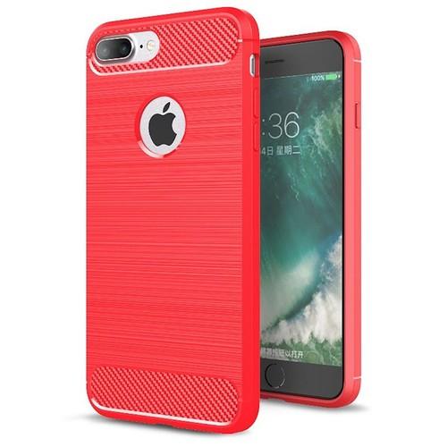 iphone 7 plus coque silicone rouge