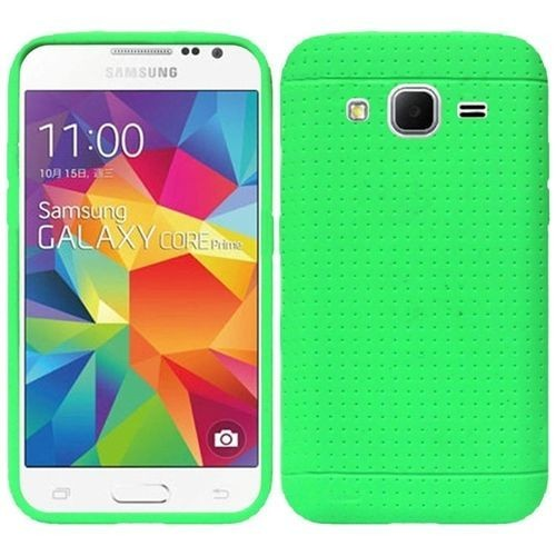 coque housse etui silicone gel pour samsung galaxy prevail lte core prime g360 neon vert. Black Bedroom Furniture Sets. Home Design Ideas