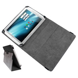 offer buy  coque housse noire avec support de maintien duragadget pour tablette tactile archos internet tablet g xs gen arnova c pc