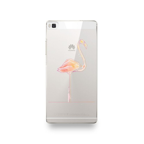coque huawei p8 lite 2017 flamant rose