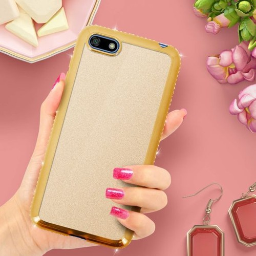 coque huawei y5 2018 silicone paillette
