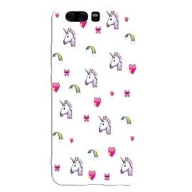 Coque Huawei Y6 2018 licorne coeur unicorn cute kawaii