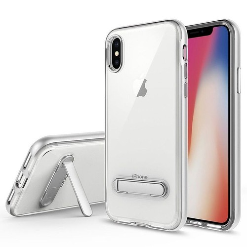 coque iphone x silver