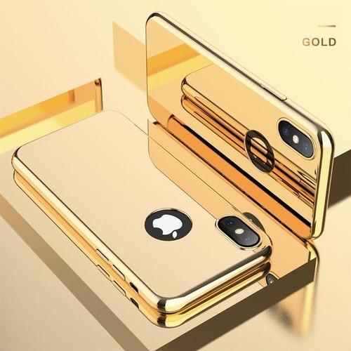 coque iphone 7 miroir or