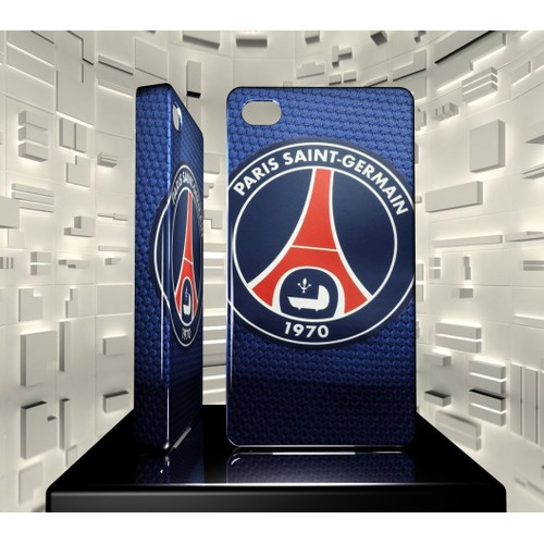 coque iphone 4 4s iph04 017 011 005 psg paris st germain football hard case. Black Bedroom Furniture Sets. Home Design Ideas