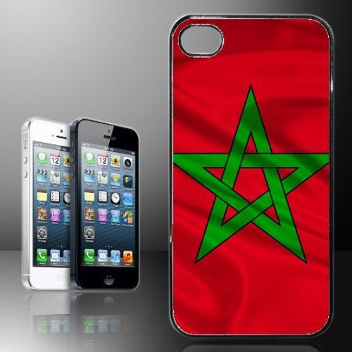 coque iphone 5 et 5s rigide drapeau maroc pas cher. Black Bedroom Furniture Sets. Home Design Ideas