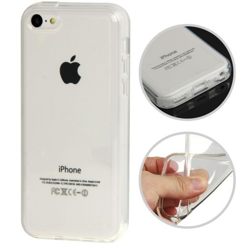 coque iphone 5c housse silicone souple blanc pour iphone 5c film iphone 5c offert. Black Bedroom Furniture Sets. Home Design Ideas