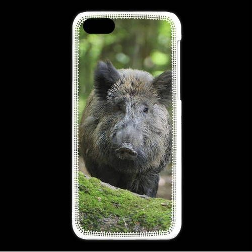 coque iphone 8 sanglier