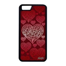 Coque iPhone 6 6S Plus silicone coeur romantique antichoc amour case love a Apple iPhone 6 Plus iPhone 6S Plus