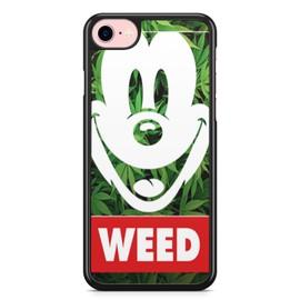 Coque iphone 7 et iphone 8 weed mickey disney