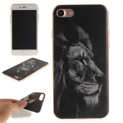 coque iphone 7 silicone lion