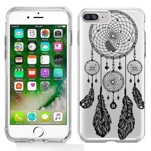 coque plume iphone 8 plus