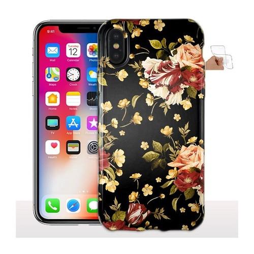 coque iphone x fleurs