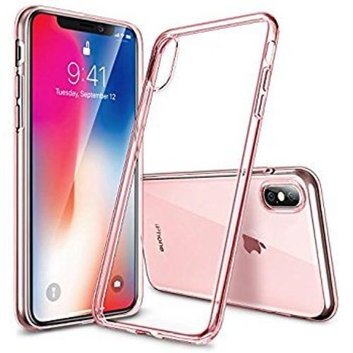 coque rose gold iphone x