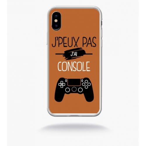 coque iphone x console