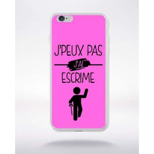 coque iphone 6 escrime