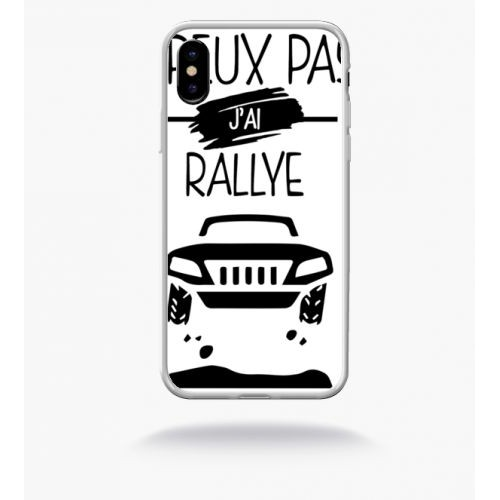 coque iphone x rallye