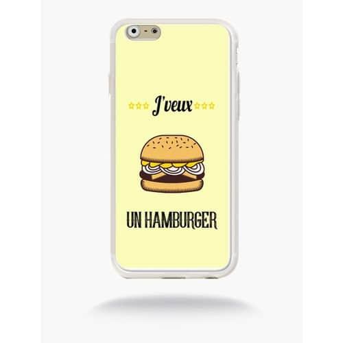 coque iphone 6 humburger