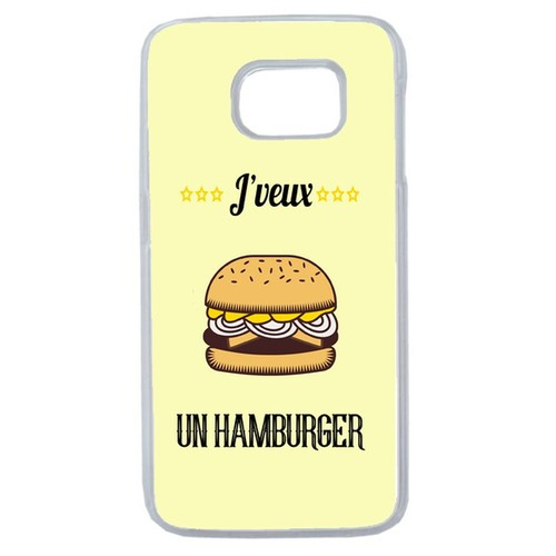 coque samsung galaxy s6 hamburger