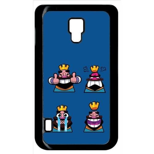 Design Rubberized Hard Case for Samsung Galaxy Mega 6.3 . Source · coque-lg-optimus-l7-ii-clash-royal-humour-