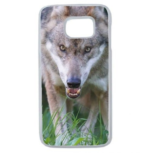 coque loup galaxy s6