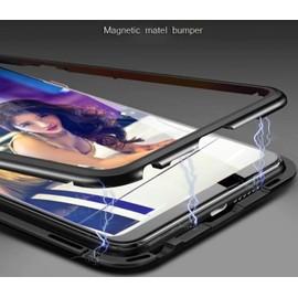 Coque Métal Absorption Magnétique 360 pour Huawei P20 P20 Lite P20 Pro