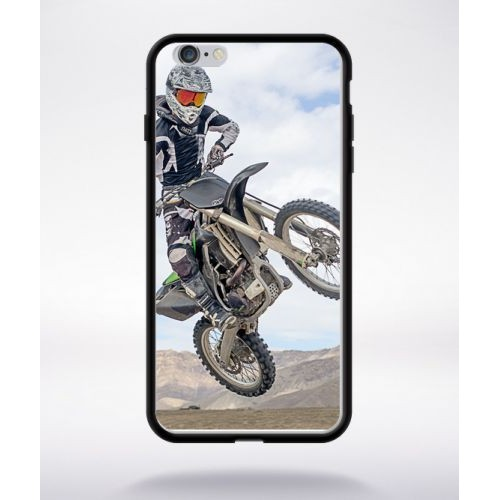 coque iphone 6 moto cross silicone