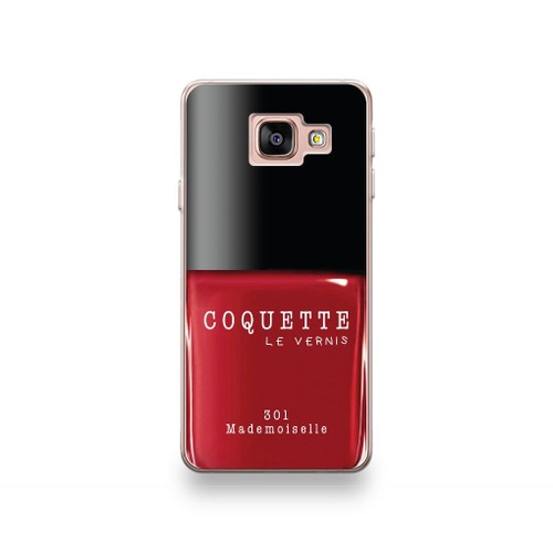 coque motorola e4 plus motif vernis ongle rouge mademoiselle. Black Bedroom Furniture Sets. Home Design Ideas