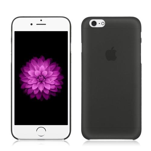 coque noir iphone 6 6s plus 5 5 transparent fine 0 3 mm etui housse bumper fivediscount. Black Bedroom Furniture Sets. Home Design Ideas