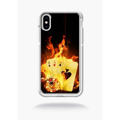 coque iphone xr feu