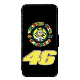 Coque Portefeuille iphone 5/5S Fan de Valentino Rossi VR46