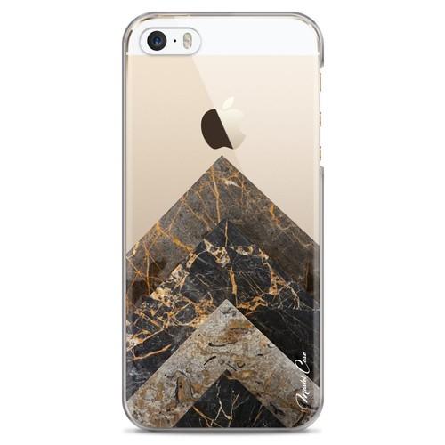 3d0f6f7bb55 coque-pour-iphone-5-5s-se-transparente-hybride-avec-bumper-souple-en-tpu-face-arriere-dur-avec-un-motif-marbre-decor-art-designer-design-exclusif-master-  ...