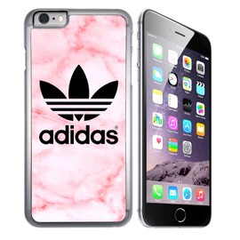 Coque pour iPhone 7 adidas marble pink