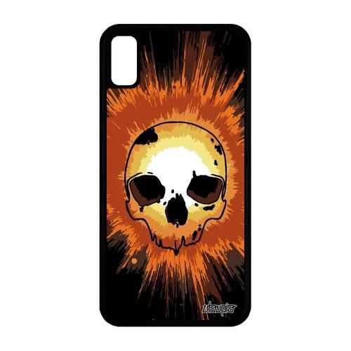 coque silicone orange iphone xr
