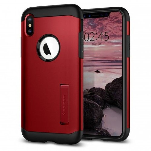 coque pour iphone xs rouge