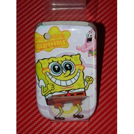 Coque Rigide Blackberry 8520 Bob L Eponge