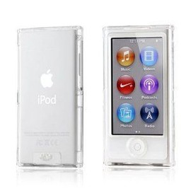 Coque rigide tui housse de protection cristal crystal for Housse ipod nano