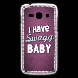 Coque Samsung Galaxy Ace3 I Have Swag Rose Zg