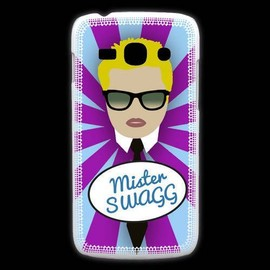 Coque Samsung Galaxy Ace3 Mister Swag Blond