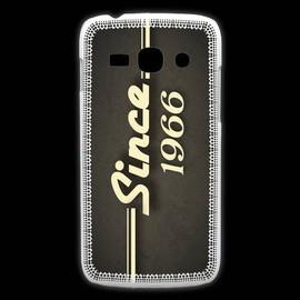 Coque Samsung Galaxy Ace3 Since 1966 Gris