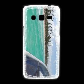 Coque Samsung Galaxy Express2 Bord De Plage En Bateau