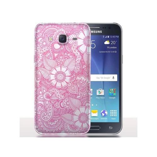 coque samsung galaxy j5 2017 mandala pastel rose protection pour t l phone portable. Black Bedroom Furniture Sets. Home Design Ideas