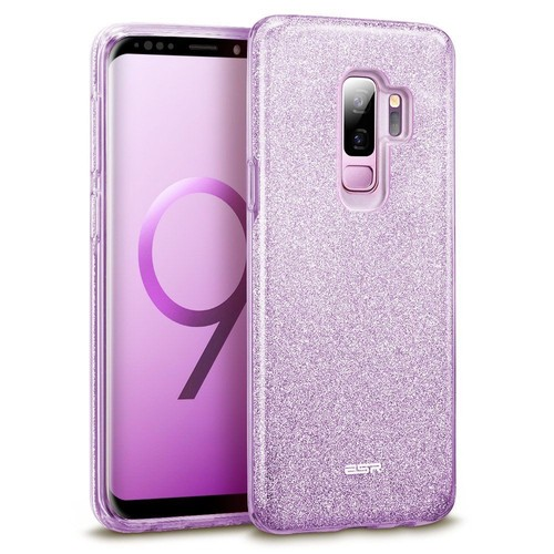 546651200272a Coque Samsung Galaxy J6 2018 Paillettes, Souple, Silicone, Glitter, Violet