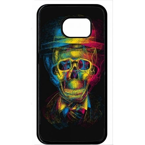 coque galaxy s6 edge tete de mort