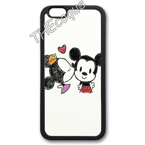 coque iphone 5 silicone mickey minnie