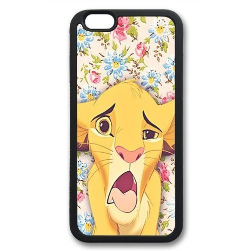 coque iphone 7 silicone roi lion