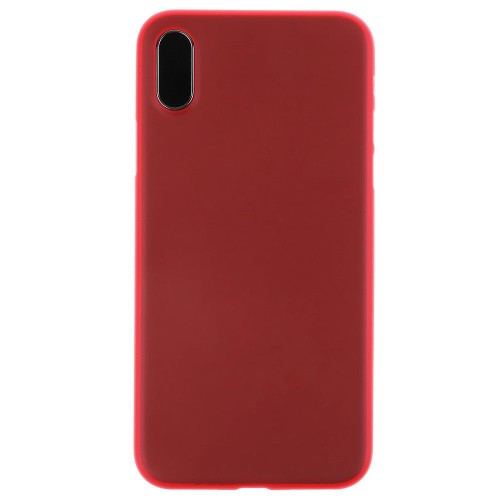 coque iphone xr fine rouge