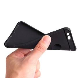 Coque silicone iPhone 6 Plus/6S Plus - Noir