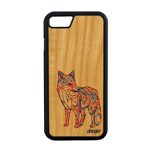 iphone 7 coque renard