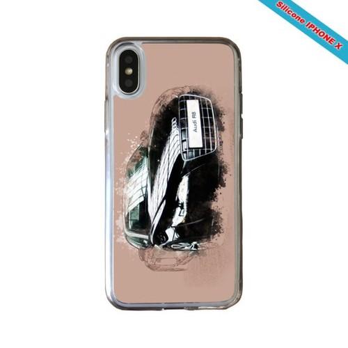 coque iphone x audi silicone